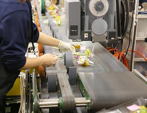 細やかな生産加工の管理